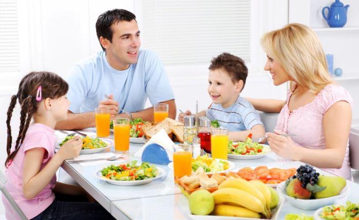 раздельное питание для всей семьи