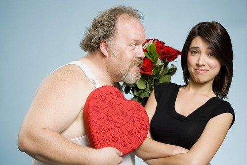 Молодая девушка и разведенный мужчина