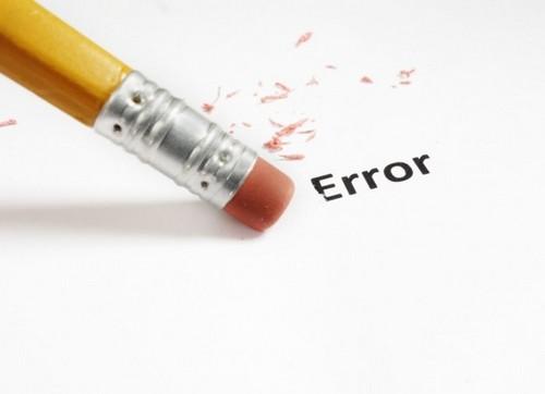 Сожаление об ошибках