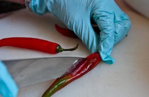 острый красный перец