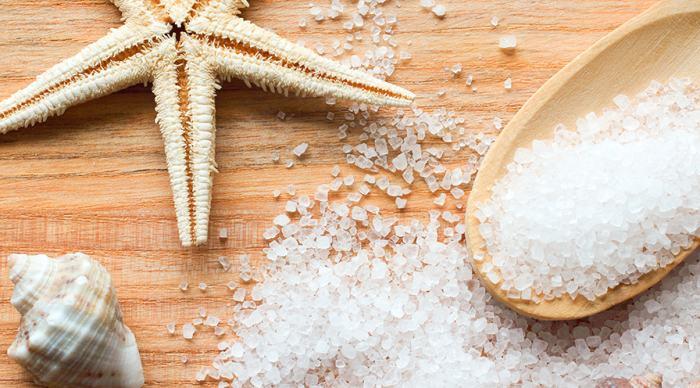 омолаживающий эффект морской соли